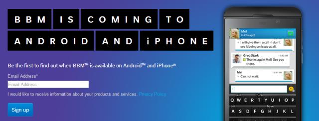 Kapan BBM Hadir di Android & iOS?