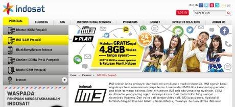 Genjot Pelanggan Seluler, Indosat Andalkan IM3
