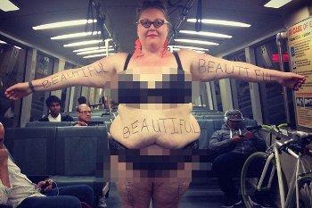 Be Beautiful Project, Ketika Wanita 141 Kg Berbagi Foto Lemak Tubuhnya
