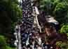 Arus lalu lintas di Jalan TB Simatupang padat.