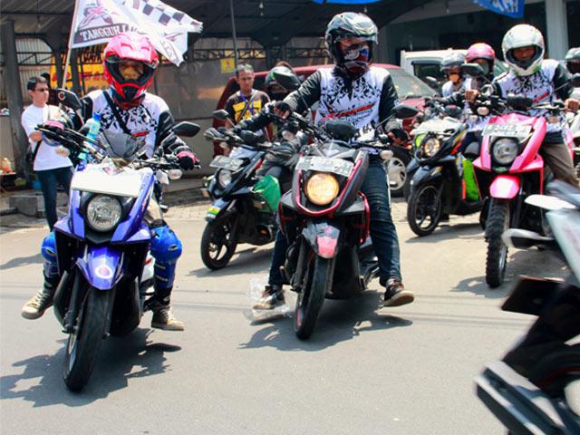 Touring Pengguna Motor X-Ride