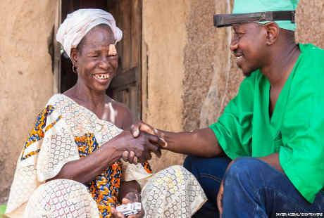 Sightsavers, Potret Dokter Bedah Mata Keliling di Mali