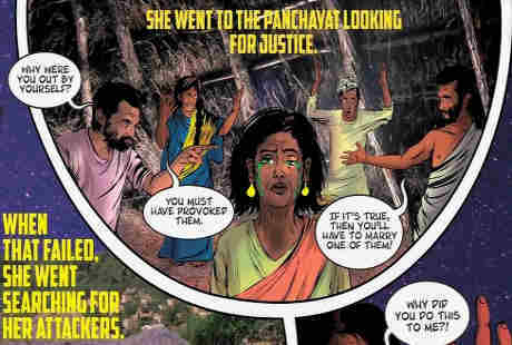 Priya, Korban Perkosaan yang Jadi Pahlawan di Komik India