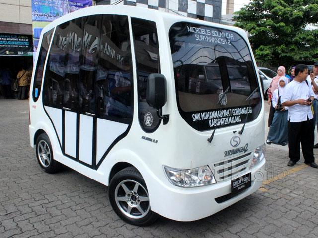 Mobil Surya Buatan SMK Muhammadiyah