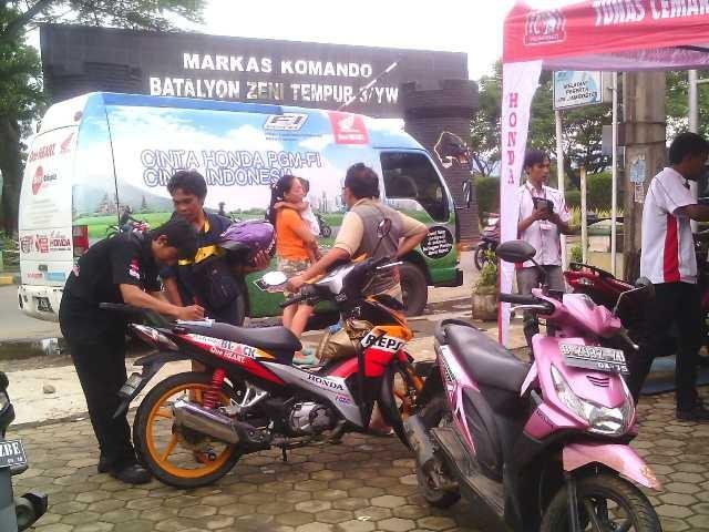 Honda Servis Gratis Motor Mogok di Bandung