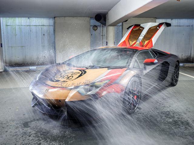 Grafiti di Bodi Lamborghini