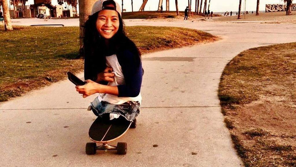 Foto-foto Kanya, Perempuan Tanpa Kaki yang Punya Semangat Tinggi