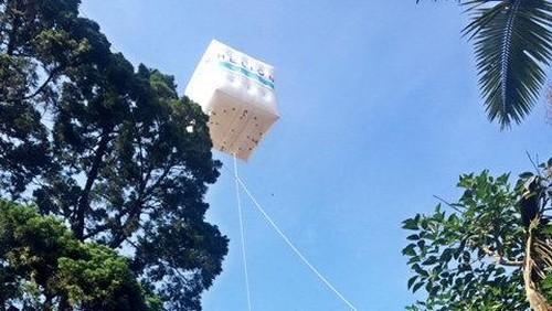 Tandingan Balon Google Mulai Mengudara di Bandung