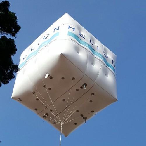 Helion Pesaing Balon Google Mengudara di Bandung Pekan Ini