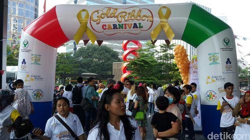 Lewat Karnival, Anak-anak dengan Kanker Dihibur di Akhir Pekan
