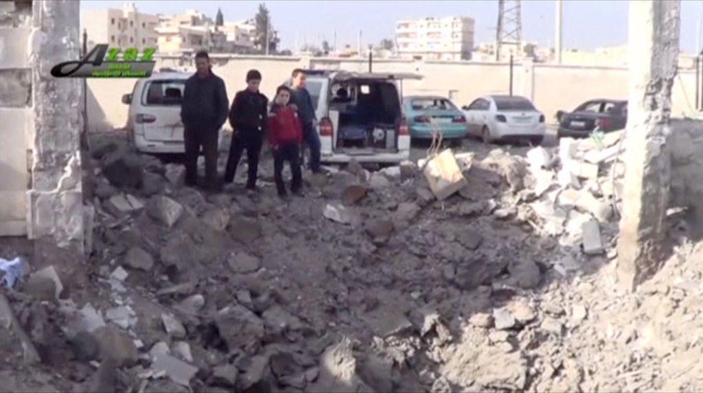 10 Warga Sipil Tewas Terkena Serangan Udara di Suriah
