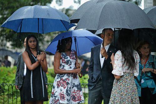 Obama Diejek Putrinya di Snapchat