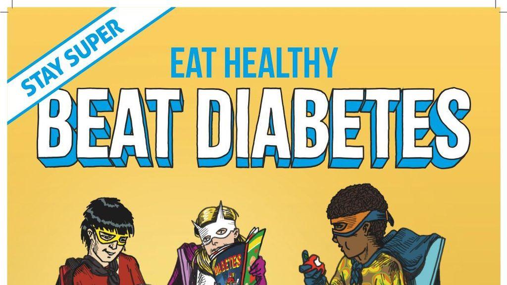 Poster-poster Seru Bikinan WHO untuk Kampanye Beat Diabetes