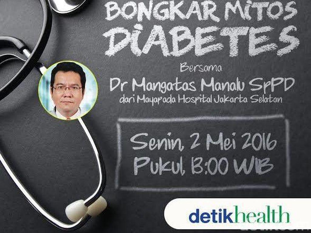 Punya Pertanyaan tentang Diabetes? Segera Tanyakan ke Sini