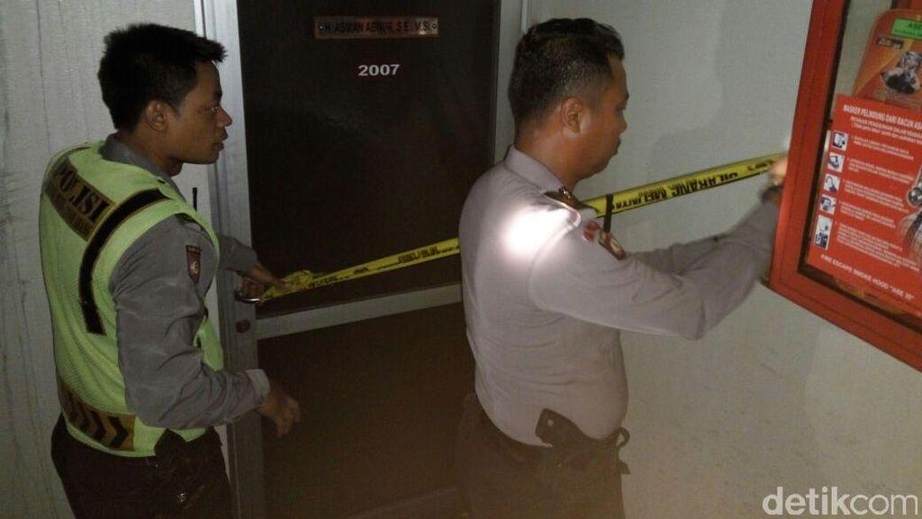 Ruang yang Terbakar di Lantai 20 Gedung DPR Dipasang Garis Polisi
