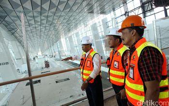 Presdir Angkasa Pura II Tinjau Terminal 3 Ultimate Soekarno-Hatta
