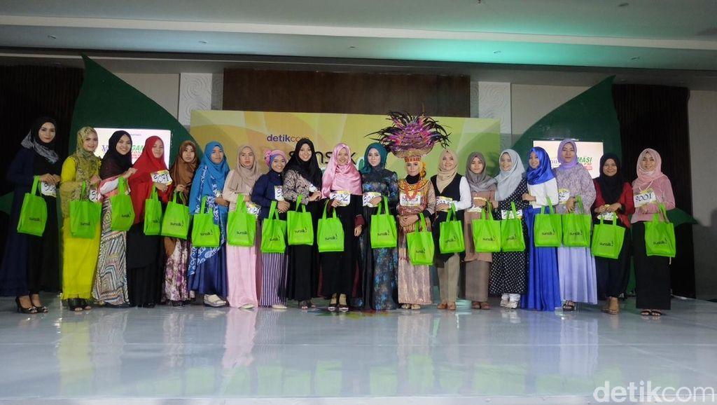 20 Peserta Sunsilk Hijab Hunt Makassar yang Melaju ke Audisi Hari Ke-2