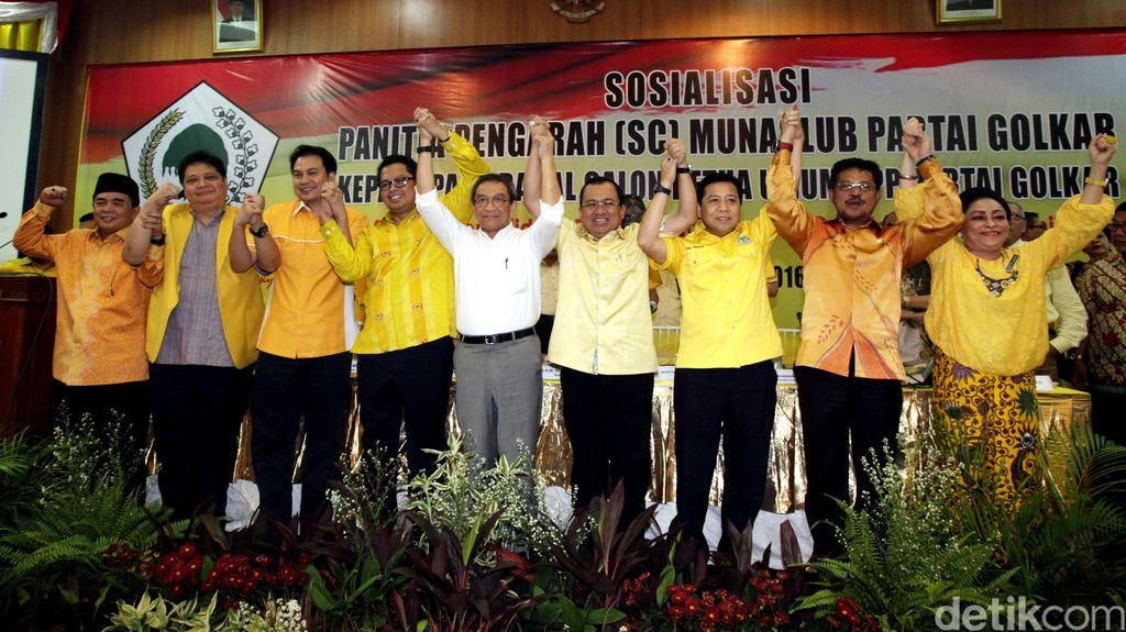 KPK Larang Caketum Golkar Iuran Rp 1 M