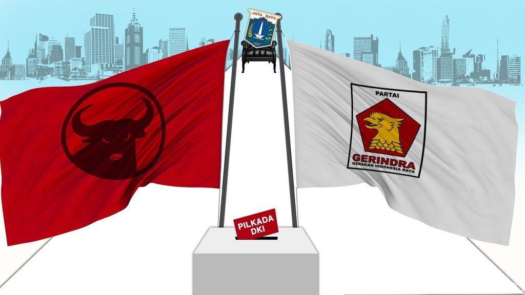 Jajaki Koalisi dengan PDIP, Gerindra: Ahok Pasti Kalah