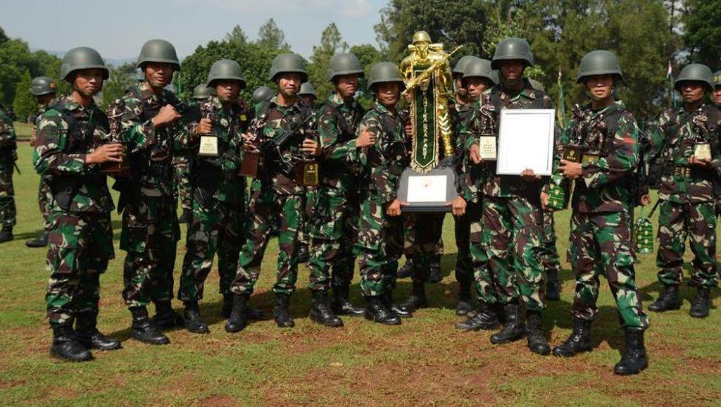 Pratu Betmen Pecahkan Rekor Waktu Tercepat Lomba Lari di TNI AD