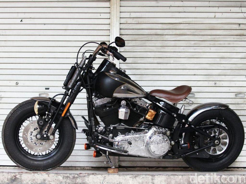 Motor Harley ala Orang Jawa