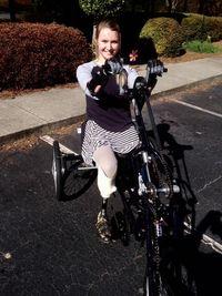 Aimee yang dibesarkan di Georgia, AS, kini tinggal di Atlanta. Meski memiliki keterbatasan fisik, namun Aimee tetap aktif, umumnya memberikan ceramah motivasi dan mengadvokasi para penyandang disabilitas. (Foto: Facebook Aimee Copeland)