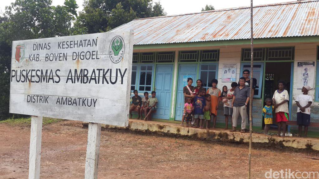 Potret Kondisi Layanan Kesehatan Puskesmas di Tengah Hutan Papua