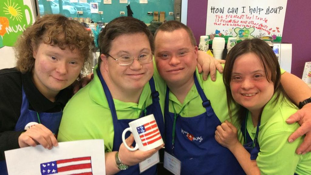 Foto-foto: Down Syndrome Tak Halangi Orang-orang Ini Semangat Jalani Hidup