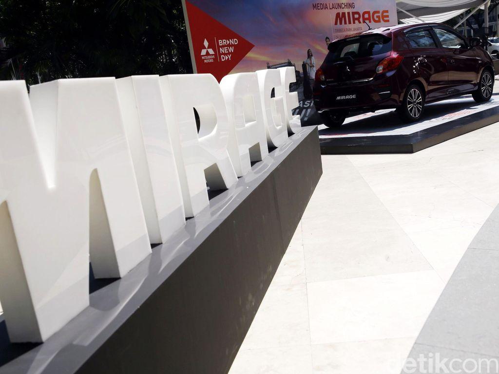 Mitsubishi New Mirage Resmi Meluncur di Jakarta