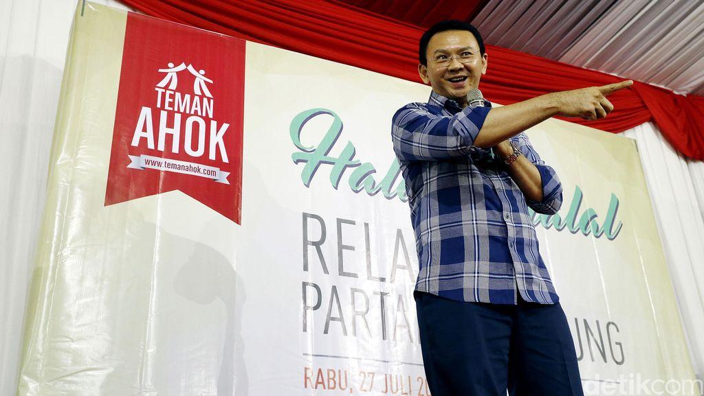 Para Politisi ini 'Menang Taruhan' Ahok Maju Lewat Jalur Partai