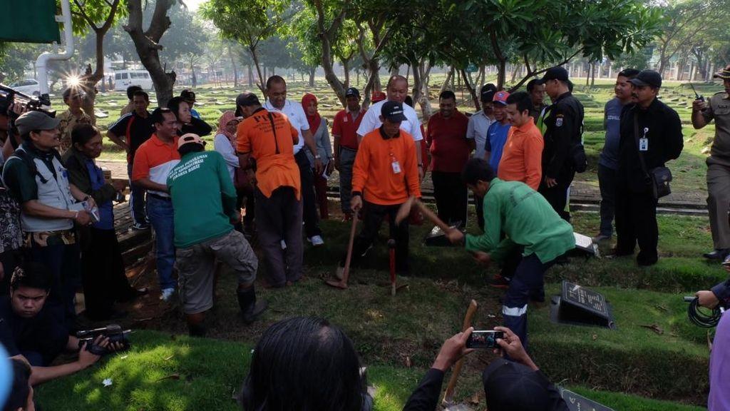 376 Makam Fiktif Ditemukan di 7 TPU di Jakarta