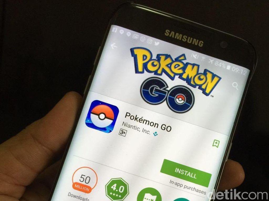 Nintendo Tuai Rp 1,3 Triliun dari Pokemon Go