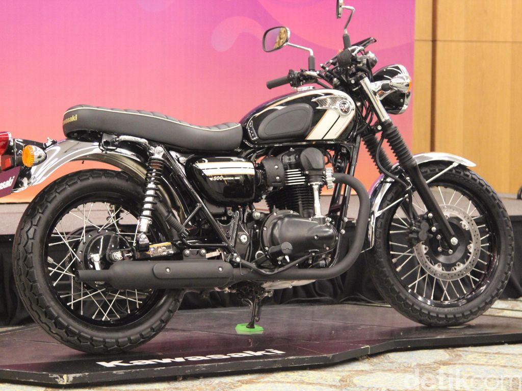 Kawasaki Luncurkan Motor Klasik W800