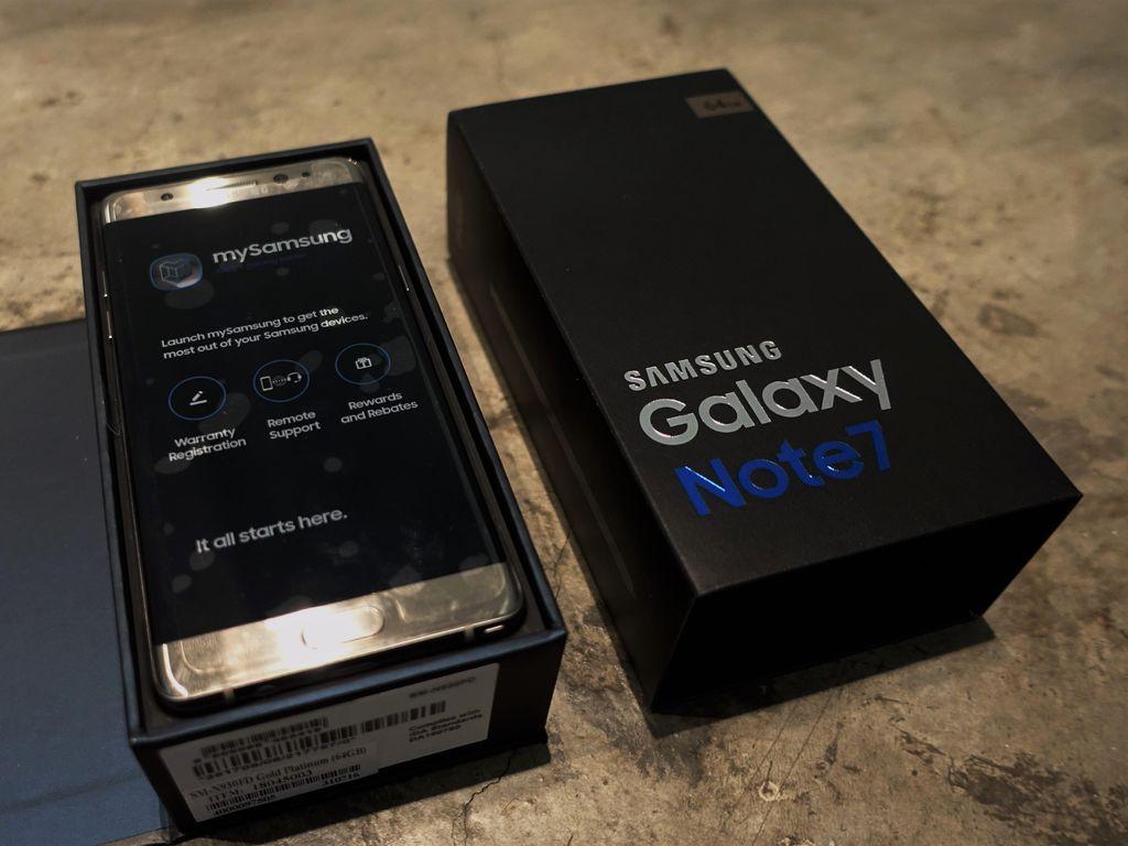 Galaxy Note 7 Bisa Ditukar di Bandara Soetta