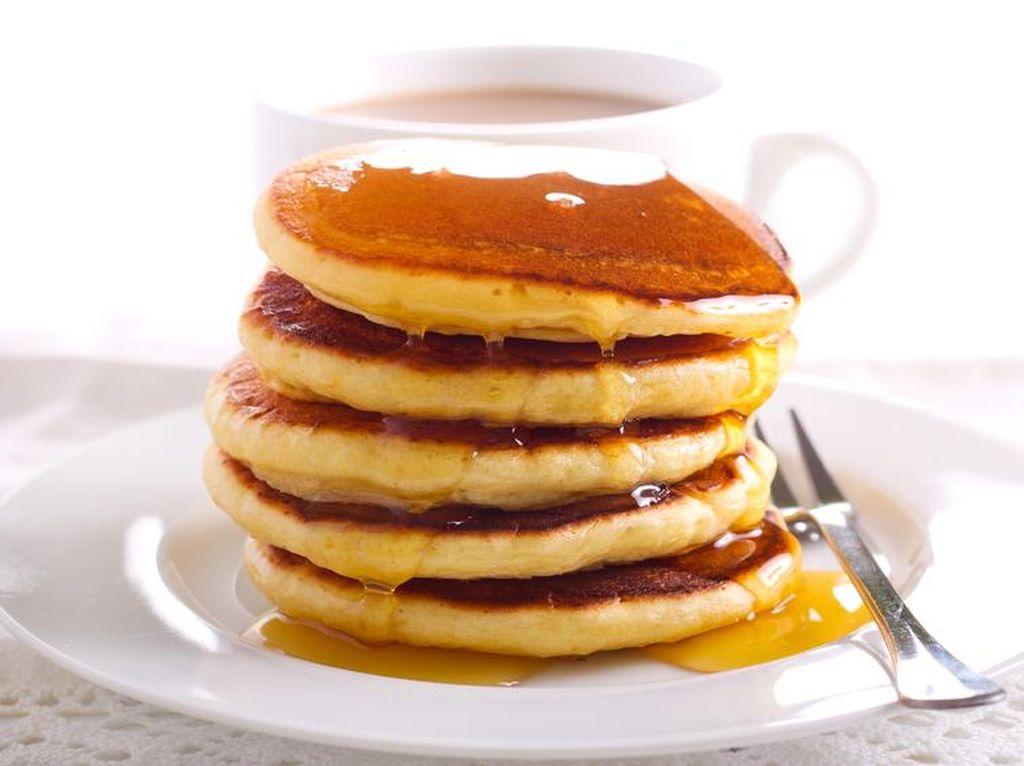 Ini Caranya Agar Pancake Lebih Lembut Mengembang
