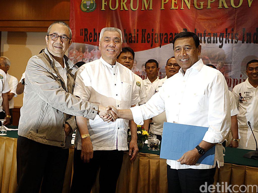22 Pengprov Dukung Wiranto Jadi Calon Ketum PBSI