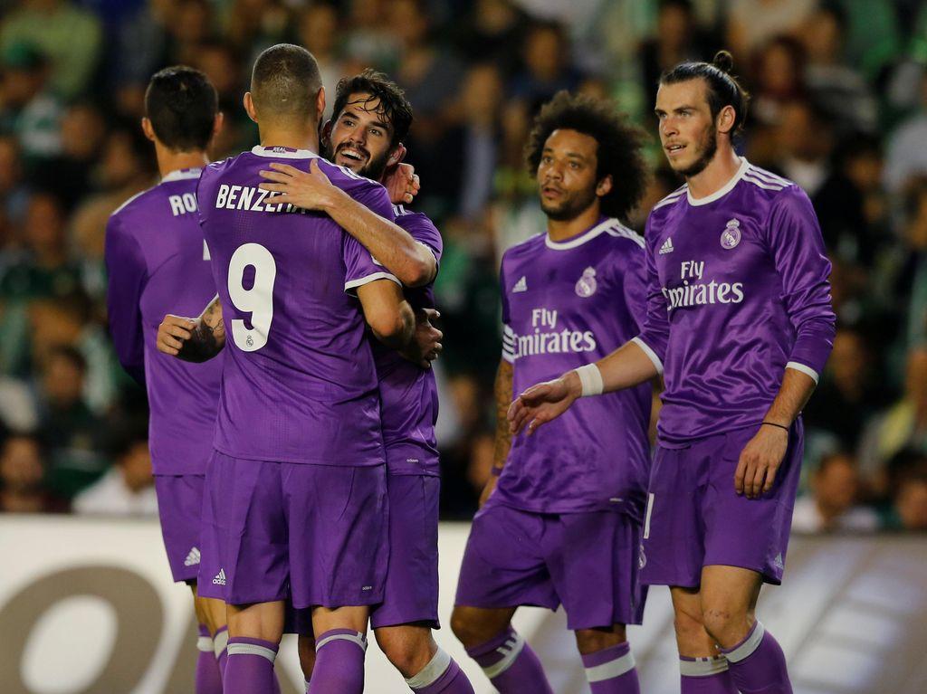 Pesta Gol, Real Madrid Gilas Real Betis 6-1