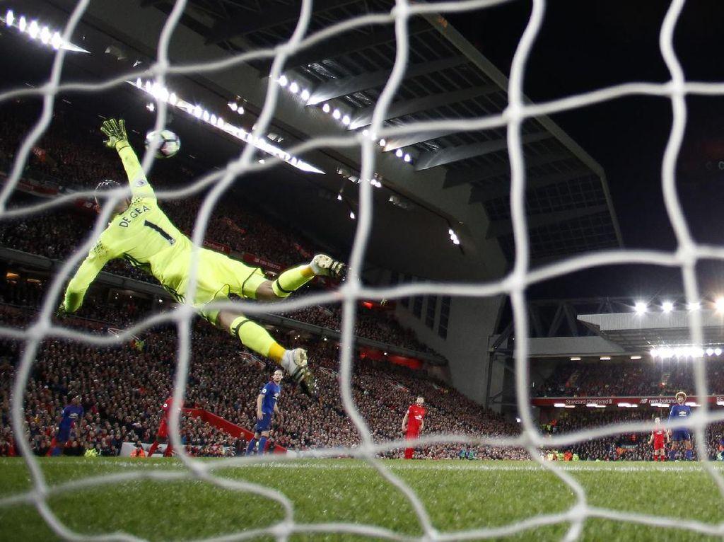 Liverpool vs MU Berakhir Imbang