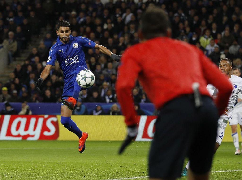 Leicester Masih Sempurna di Liga Champions