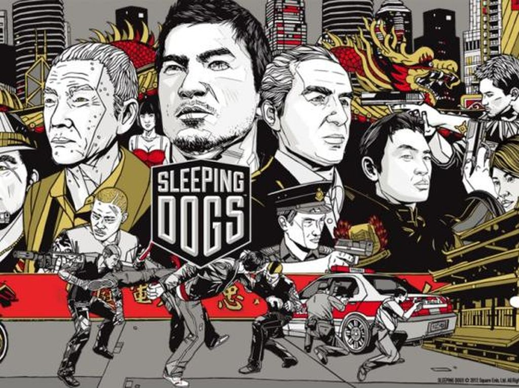 Developer Sleeping Dogs Bubar