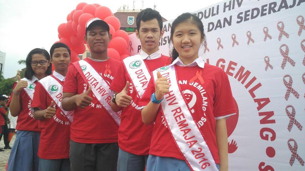 Meriahnya Kampanye Peduli HIV-AIDS Bagi Pelajar SMA di Batam