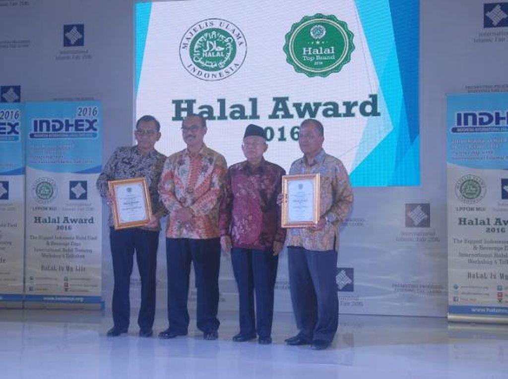 Ini Penerima Tiga Kategori Penghargaan dalam Halal Award 2016