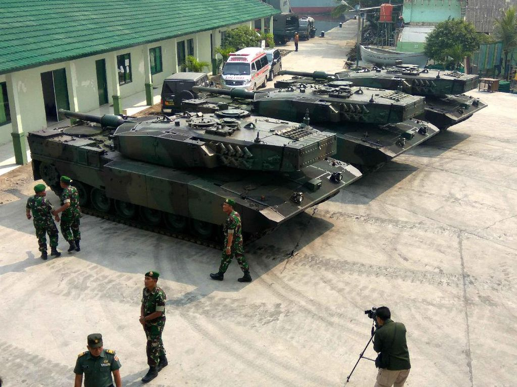 3 Tank Leopard Diberangkatkan ke Natuna