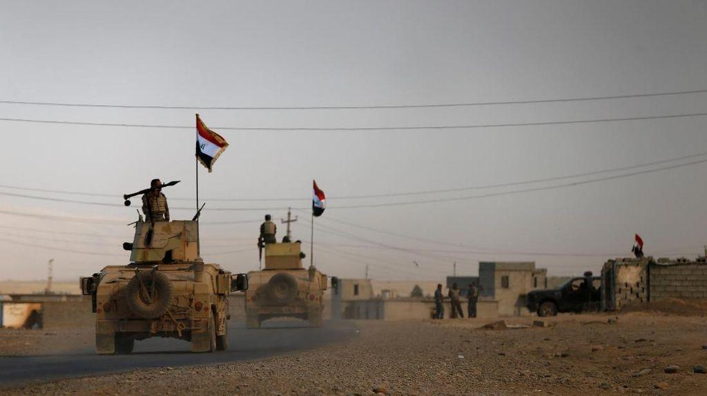 Pasukan Irak Makin Dekati Pusat Mosul, Militan ISIS Cukur Jenggot