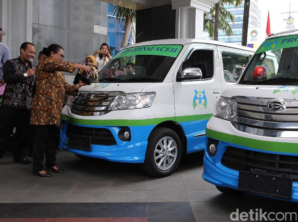 Menteri Yohana Luncurkan Mobil Perlindungan Anak