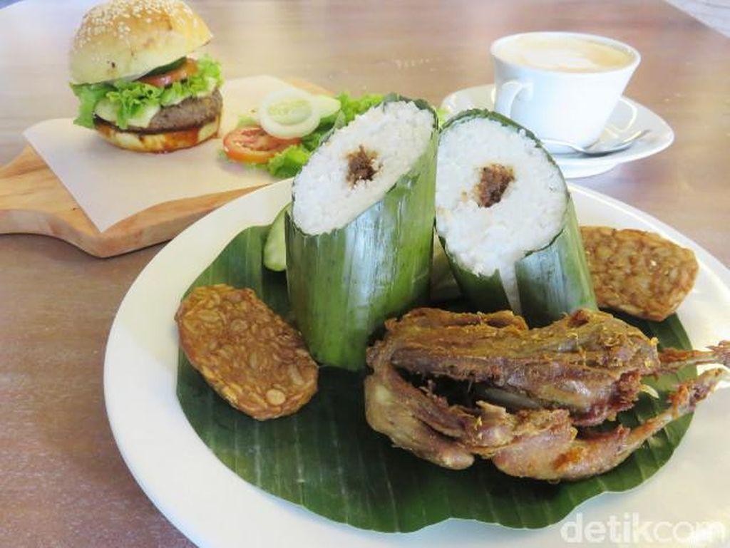 JakBistro: Kini Bisa Menikmati Burung Marlon Goreng dan Burger Enak di Balai Kota