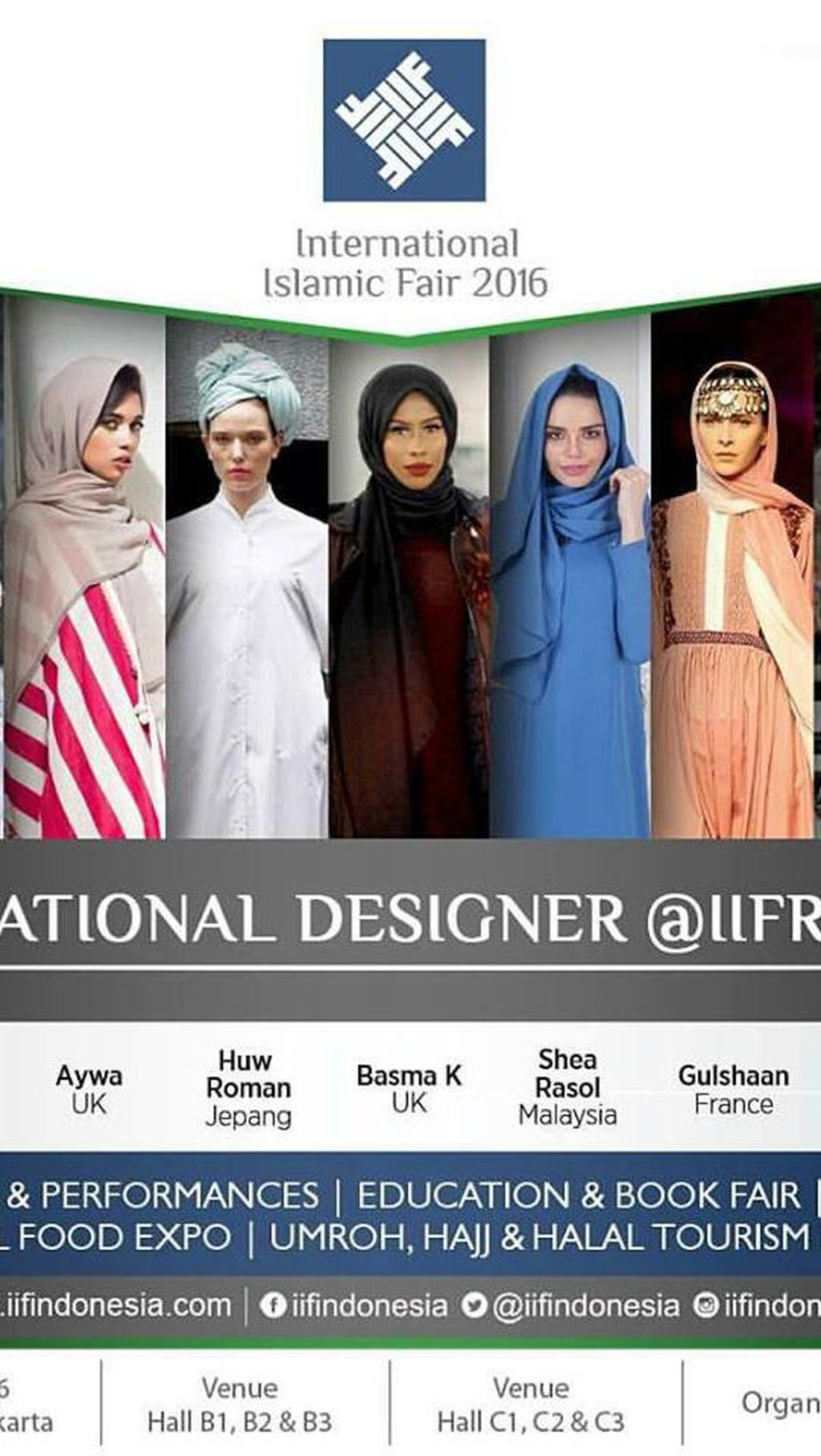 Yuk Bertemu Hijabers Dunia yang Inspiratif di International Islamic Fair 2016