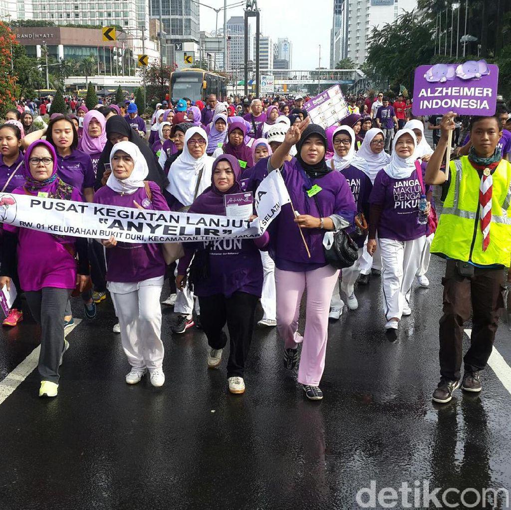 Ada Pojok Lansia, Warga Jakarta Bisa Deteksi Dini Pikun di Car Free Day