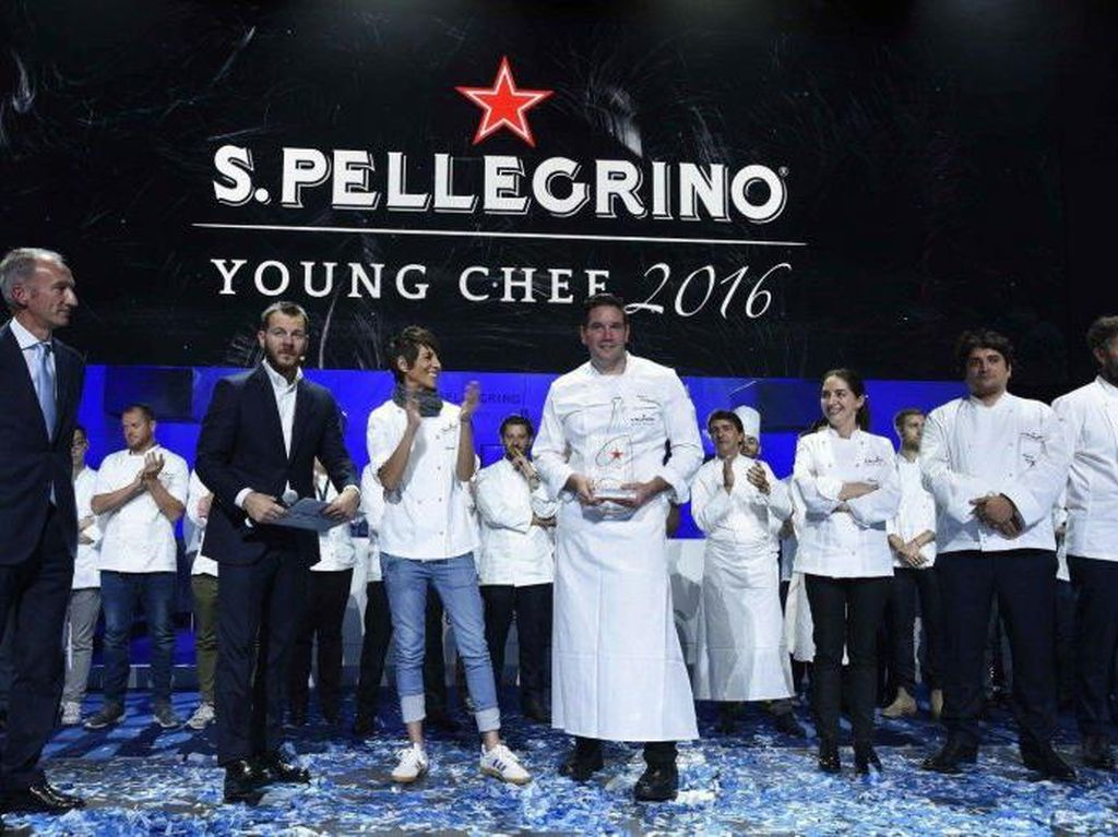 Chef Mitch Lienhard Jadi Pemenang Young Chef Competition 2016 S.Pellegrino