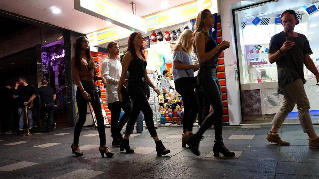 Kehidupan Malam Gold Coast, Gadis Cantik & Kasino